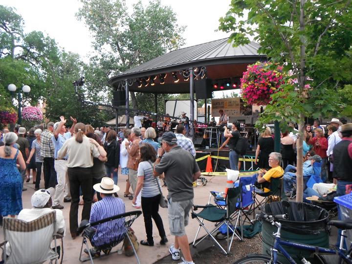 Santa Fe Plaza - Summer Bandstand